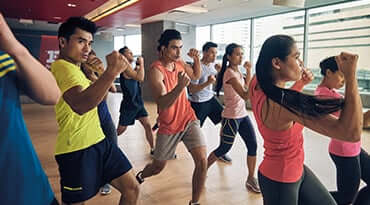 Fitness First Singapore Body Combat Class