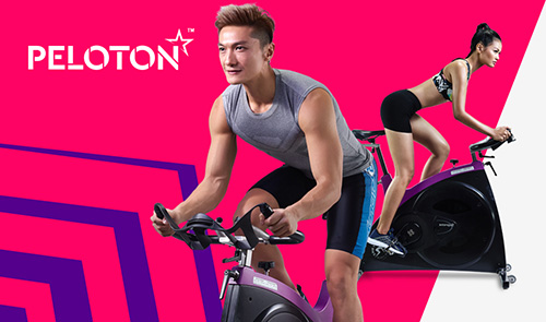 Dual Access membership Celebrity Fitness kelas RPM Peloton